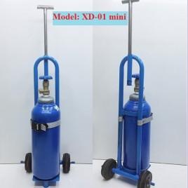 Xe kéo bình khí oxy thở loại nhỏ XD-01 mini